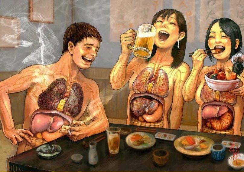алкоголь повышает холестерин в крови