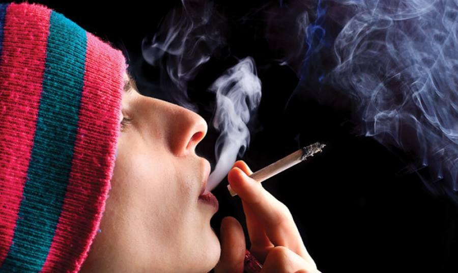 подростки курящие спайс