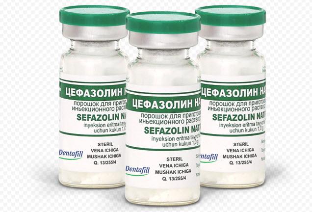 Цефазолин: инструкция по применению
