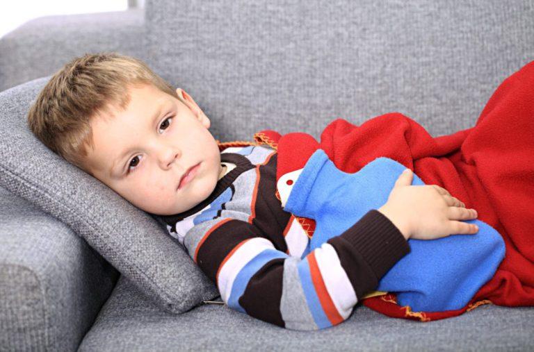 метеоризм у ребенка